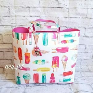 Kate Spade Flavor Of The Month Len Ice Pop Tote